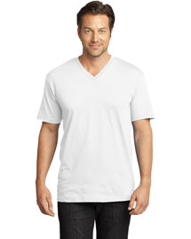 District Threads DT1170 Mens Perfect Weight V Neck Tee at bigntallapparel