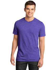 District Threads DT1400 District® Young Mens Gravel 50/50 Notch Crew Tee at bigntallapparel