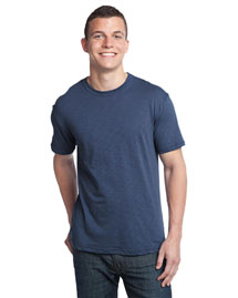 District Threads DT140 Men Slub Crewneck Tee