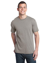District Threads DT140 Mens Slub Crewneck Tee at bigntallapparel