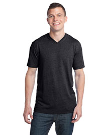 District Threads DT142V Young Mens Tri-Blend V-Neck Tee at bigntallapparel