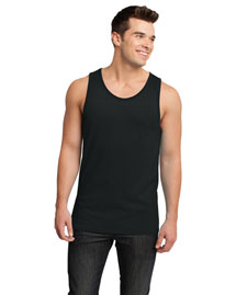 District Threads Dt1500 Men Cotton Ringer Tank