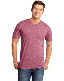 District Threads Dt161 Men Microburn? V-Neck Tee
