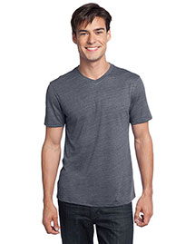 District Threads DT172 Men Textured Notch Crew Tee