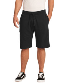 District Threads DT195 Men Core Fleece Short