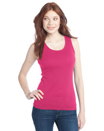 District Threads Dt210 Women 2x1 Rib Tank