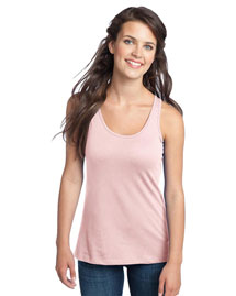 District Threads DT237 District® Juniors 60/40 Racerback Tank at bigntallapparel