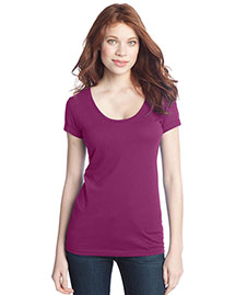 District Threads DT245 Women 60/40 Scoop Tee