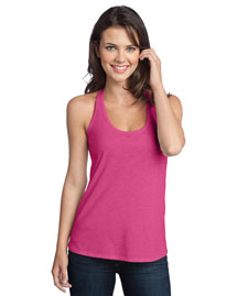 District Threads DT250 Women Tri-Blend T-Back Tank