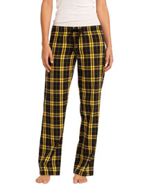 District Threads DT2800 Womenjuniors Flannel Plaid Pant
