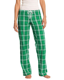 District Threads DT2800 District® Juniors Flannel Plaid Pant at bigntallapparel
