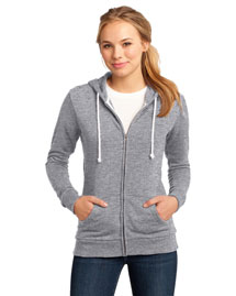 District Threads DT290 Women Core Fleece Full-Zip Hoodie