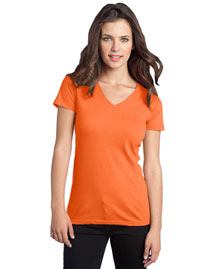District Threads DT5501 Women Concert V-Neck Tee