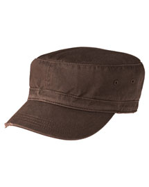 District Threads DT605  Distressed Military Hat