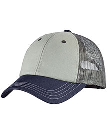 District Threads Dt616  Tri-Tone Mesh Back Cap