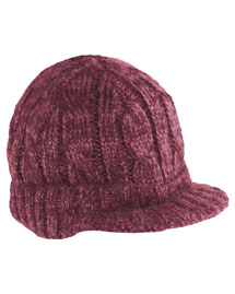 District Threads DT628 District® Cabled Brimmed Hat at bigntallapparel