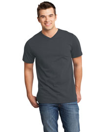 District Threads DT6500 District® Young Mens Very Important V-Neck Tee at bigntallapparel
