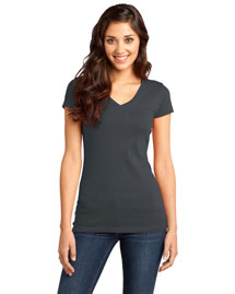District Threads DT6501 Women Very Important V-Neck Tee