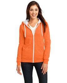 District Threads Dt801 Women Concert Fleece Full-Zip Hoodie