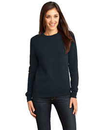 District Threads Dt821 Women Concert Fleece Crew