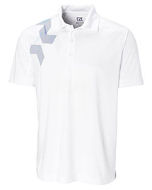 Cutter & Buck ECK00357 Men Cb Drytec Limitless Print Polo at bigntallapparel