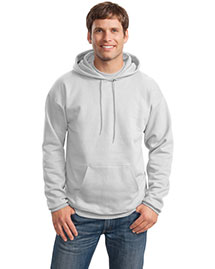 Hanes F170 Men Ultimate Cotton Pullover Hooded Sweatshirt at bigntallapparel