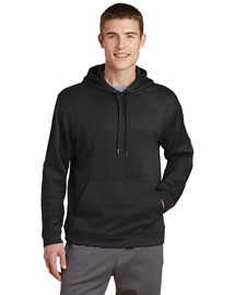 Sport-Tek F244 Men Sport Wick Fleece Pullover Hoodie at bigntallapparel