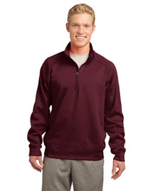 Sport-Tek F247 Men Tech Fleece 1/4-Zip Pullover