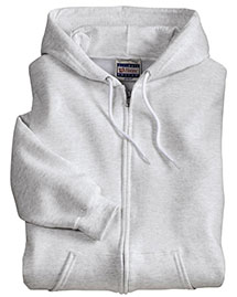 Hanes F283 Men Ultimate Cotton Full Zip Hooded Sweatshirt