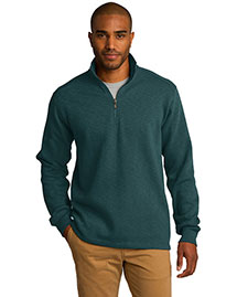 Port Authority F295 Men Slub Fleece 1/4zip Pullover