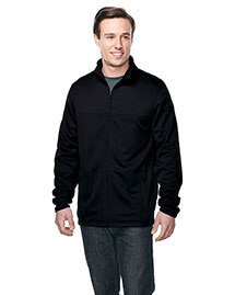 Tri-Mountain F7260 Men's 100% Polyester Full Zip Jacket at bigntallapparel