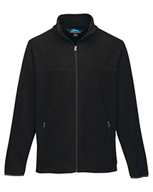 Tri-Mountain F7608 Men's Polar Fleece Jacket With Slash Zippered Pockets at bigntallapparel