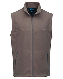 Tri-Mountain F8358 Men Polar Fleece Vest W/ Slash Zipper Pockets