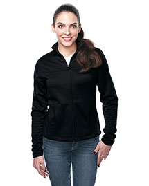 Tri-Mountain FL7260 Women's 100% Polyester Full Zip Jacket at bigntallapparel