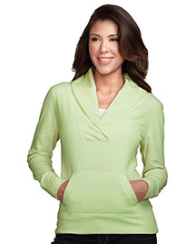 Tri-Mountain Fl7270 Women 100% Polyester Long Sleeve Shawl Collar Pullover