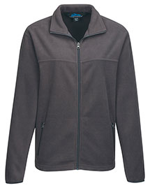 Tri-Mountain FY7608 Men's 100% Polyester Fleece Jacket at Bigntallapparel.com