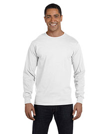 Fruit Of The Loom HD6LR Men  6 Oz., 100% Cotton Lofteez Hd Long-Sleeve T-Shirt