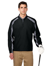 Tri-Mountain J2547 Men 100% Micro Plyester 1/4 Zip Wind Shirt