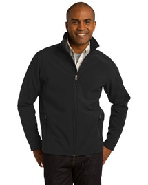 Port Authority TLJ317 Tall Core Soft Shell Jacket at bigntallapparel