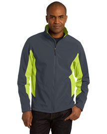 Port Authority TLJ318 Men Tall Core Colorblock Soft Shell Jacket