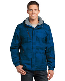 Port Authority J320 Men Brushstroke Print Insulated Jacket