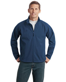 Port Authority TLJ705 Men New Tall Textured Soft Shell Jacket