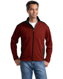 Port Authority J794 Mens Soft Shell Two Tone Jacket at bigntallapparel