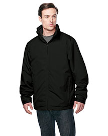 Tri-Mountain J8885 Men 3 In 1 Jacket, Inner With Zipped Out Poly Fleece Jacket