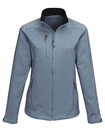 Tri-Mountain JL6205 Women's 96% Polyester 4% Spandex Dobby Full Zip Jacket at bigntallapparel