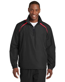 Sport-Tek JST75 Men 1/2 Zip Wind Shirt