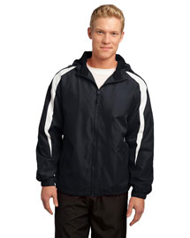 Sport-Tek JST81 Men's Fleece-Lined Colorblock Jacket
