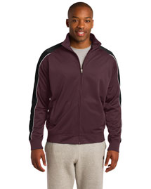 Sport-Tek JST92 Men Piped Tricot Track Jacket