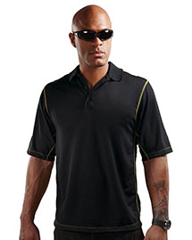 Tri-Mountain K006 Men 100% Polyester Micro Mesh 3 Button Polo