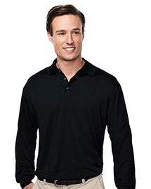 Tri-Mountain K224ls Men Long Sleeve Golf Shirt